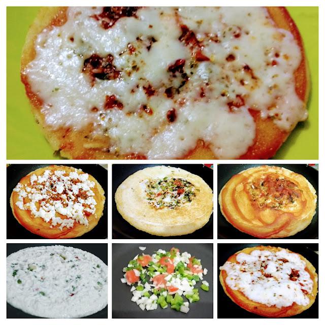 Uttapam Pizza recipe