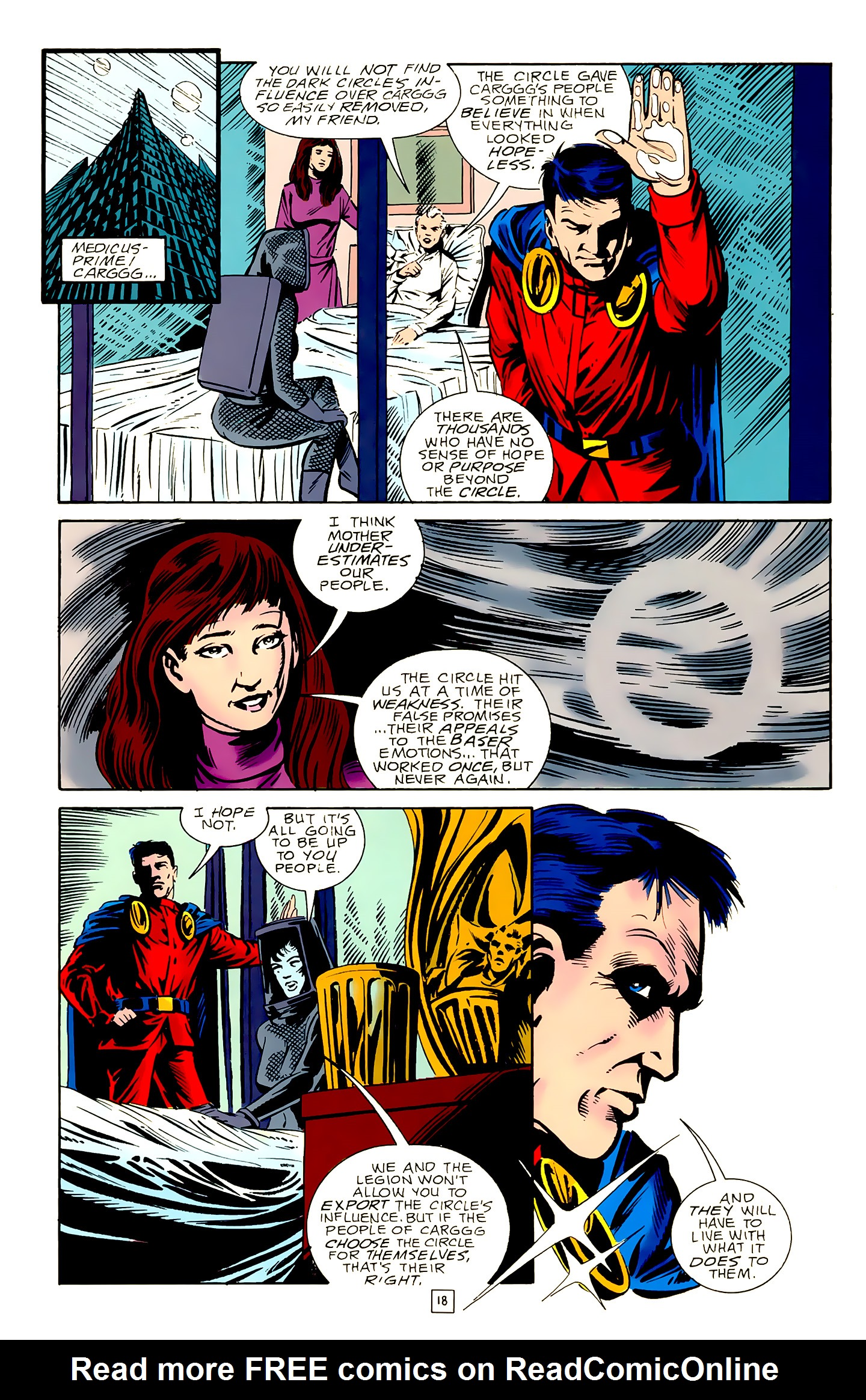 Legion of Super-Heroes (1989) 18 Page 18