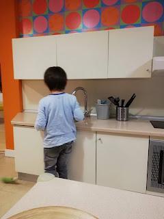 Rodrigo na cozinha