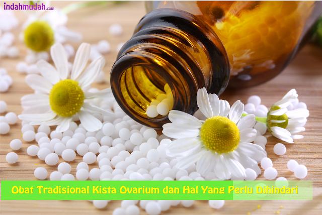 Obat Tradisional Kista Ovarium dan Hal Yang Perlu Dihindari