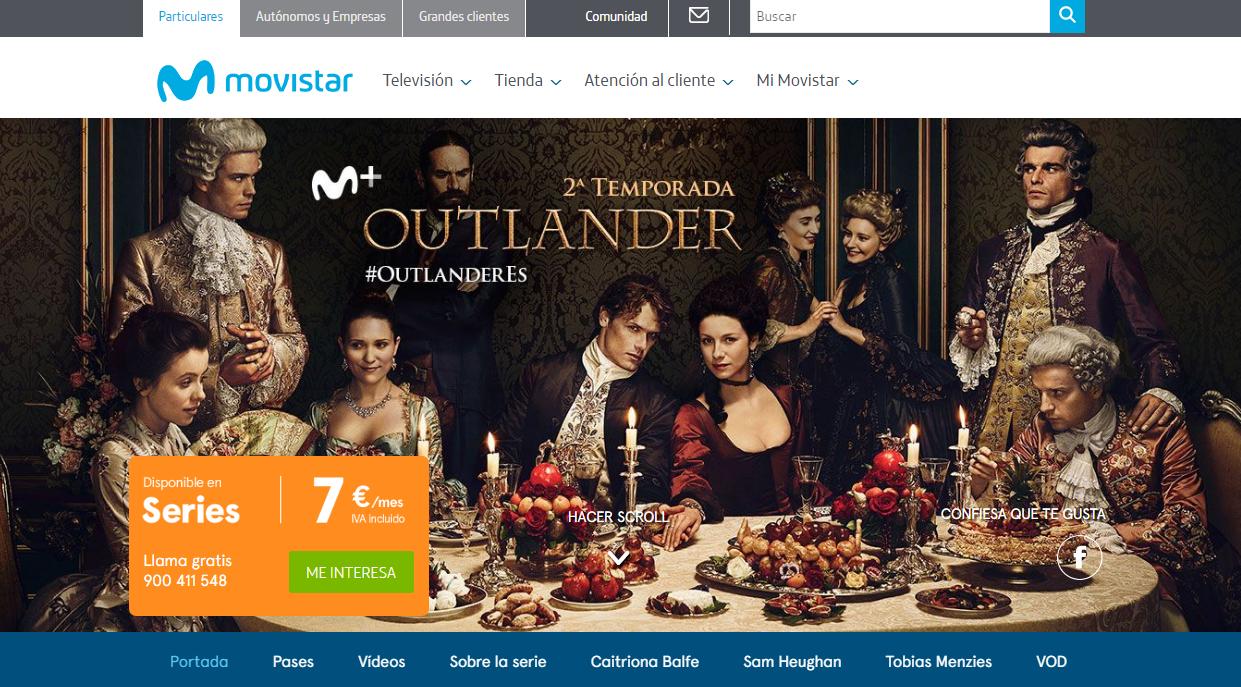 Outlander En España Blog