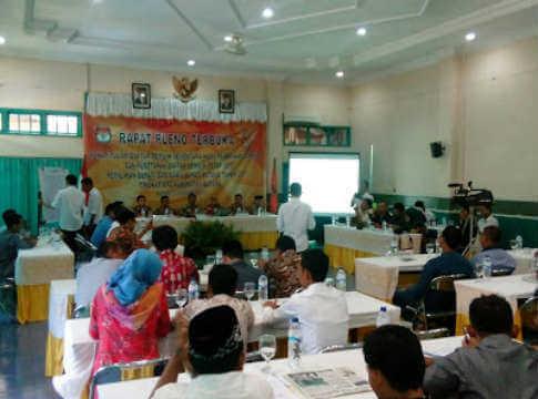 DPT Pilkada Batang Turun 6.340 pemilih