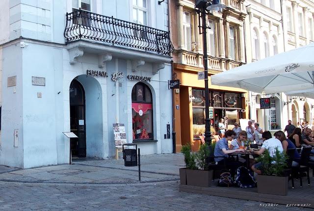 Pijalnia czekolady E. Wedel w Poznaniu
