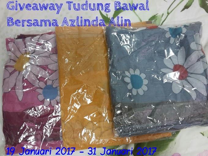 Giveaway Tudung Bawal Bersama Azlinda Alin