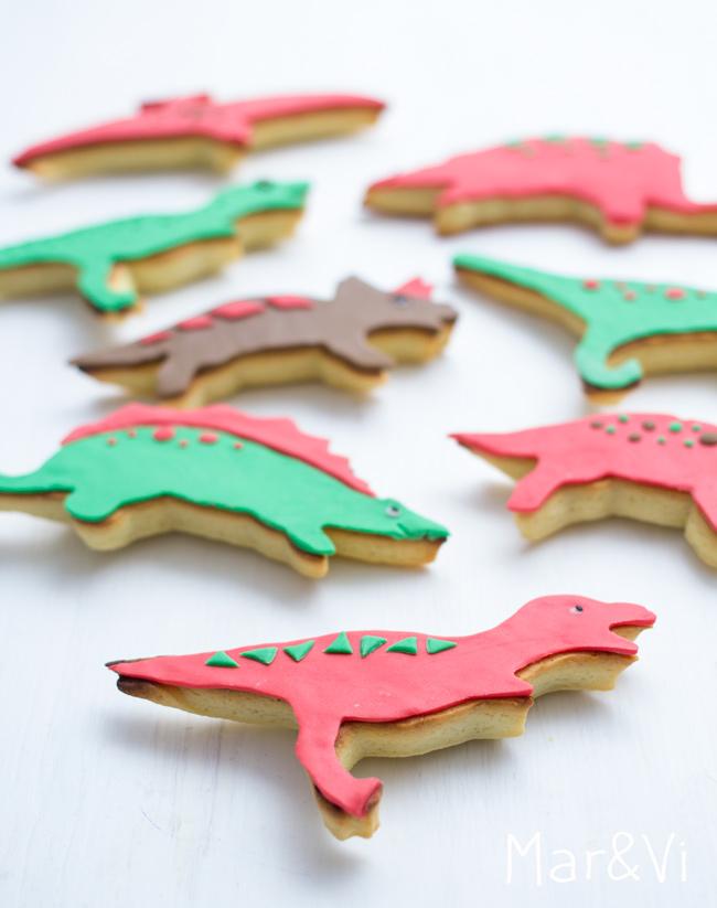 Biscotti dinosaurio ricetta passo passo