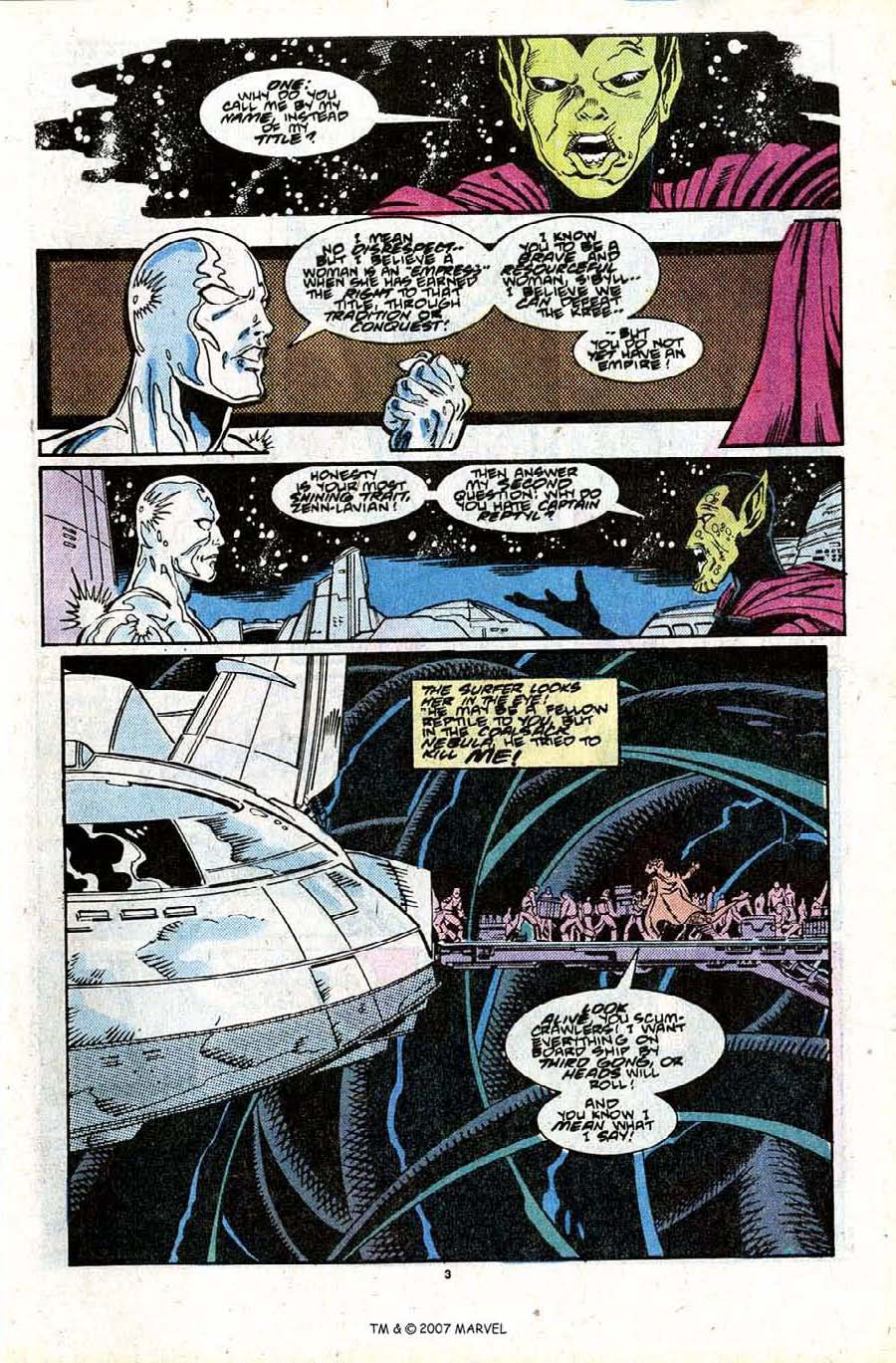 Read online Silver Surfer (1987) comic -  Issue #28 - 5