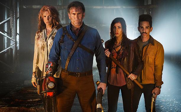 Ash vs Evil Dead & Blunt Talk - Season 2 - Premiere Dates Revealed