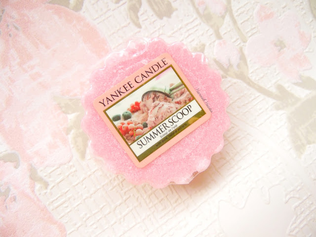 REVIEW: Yankee Candle Summer Scoop Tart