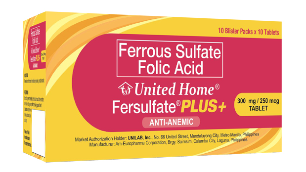 Fersulfate Plus+ for pregnant women