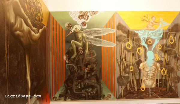 Filipino artist Jeho Bitancor - solo art exhibit - ILOMOCA - Iloilo blogger - Bacolod blogger