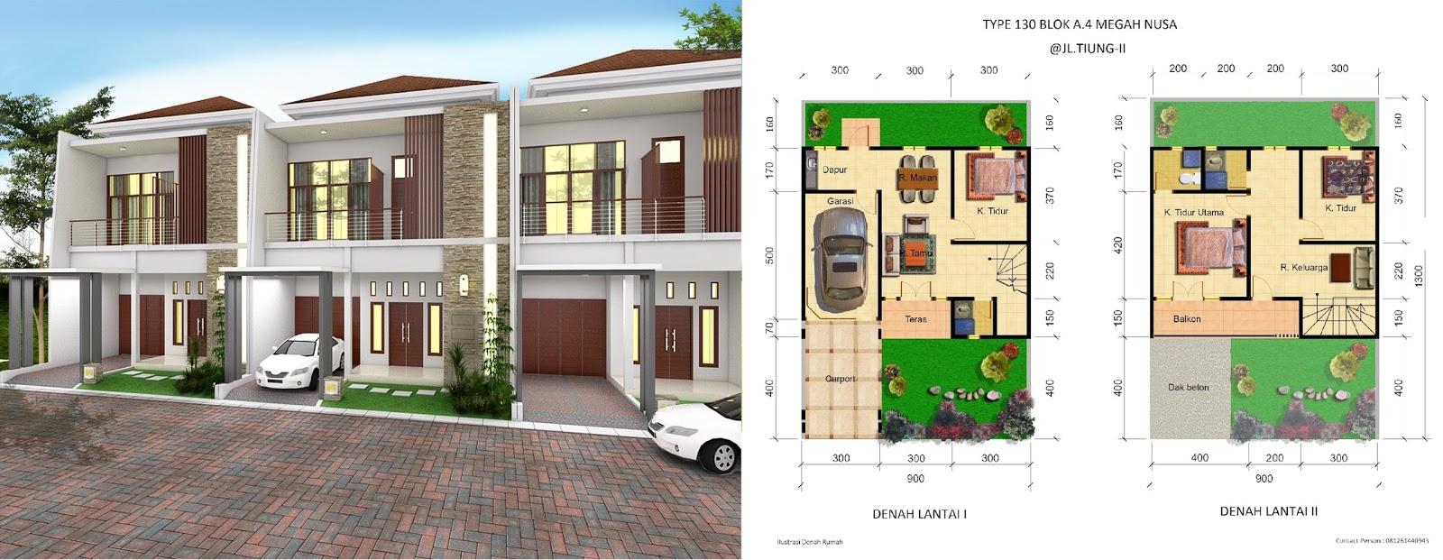 Dijual Rumah Mewah Cantik Type 130 Di Tengah Kota Pekanbaru Jalan