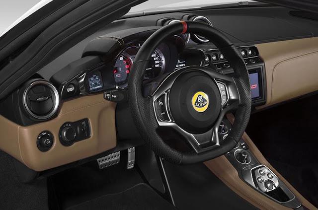 2017 Lotus Evora Sport 410 Interior