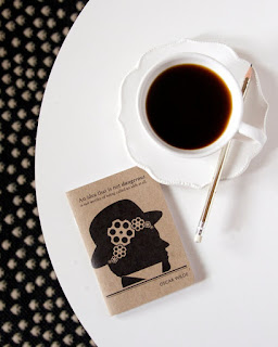 obvious state little notebook sherlock holmes and coffee