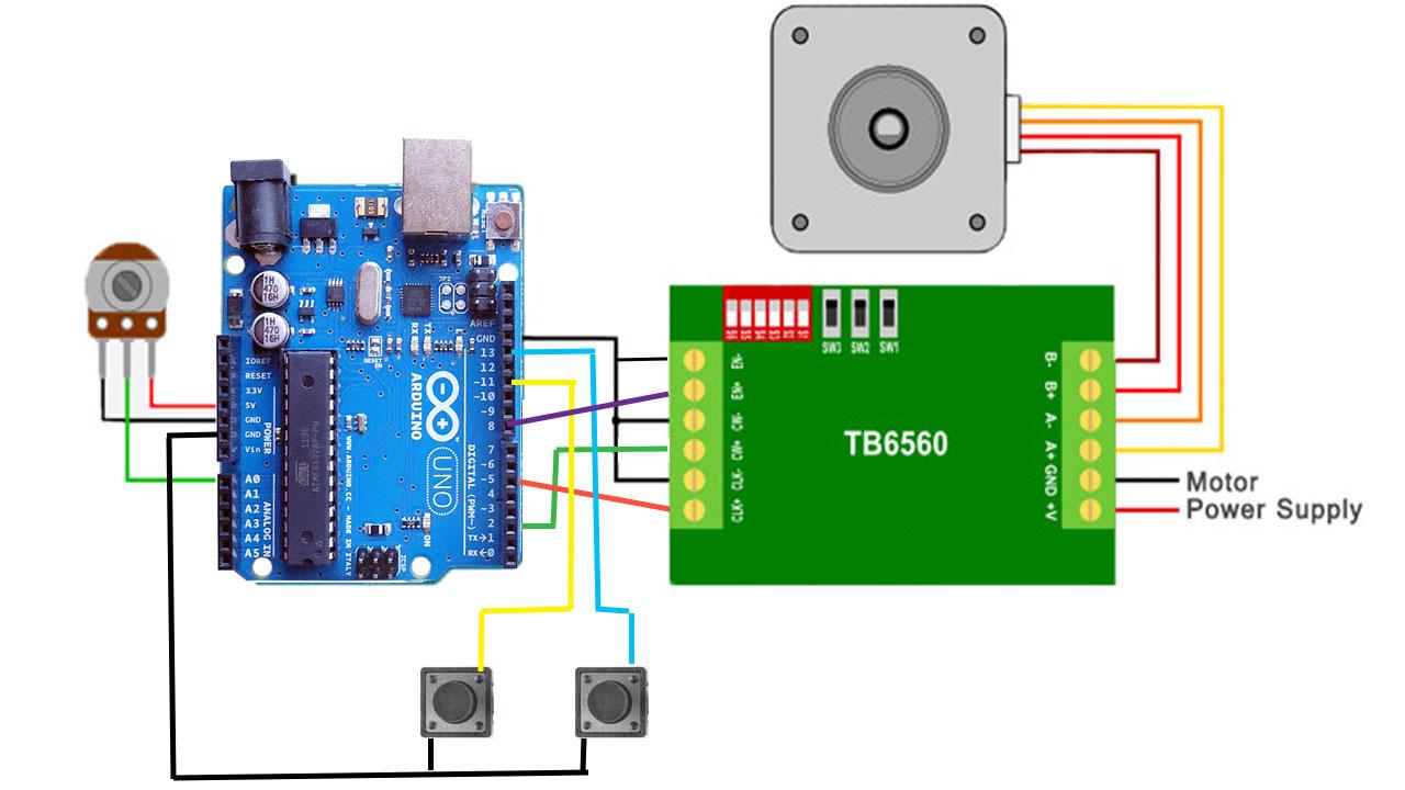 Stepper Motor Limit Switch Arduino Impremedia Net