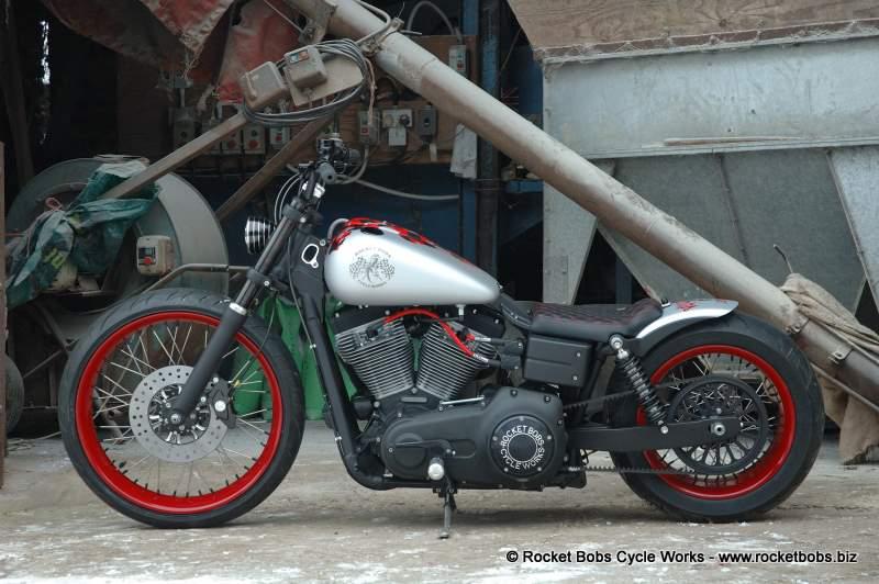 Rocket Bobs Cycle Works: Bolt on Fender for Harley Davidson
