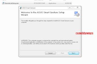 Cara Mengaktifkan Asus Smart Gesture Pada PC