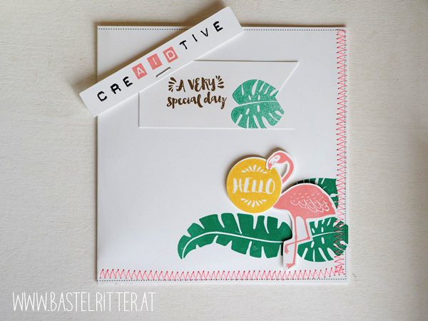 Pop of paradise creaidtive stampin up