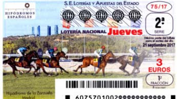 decimos de loteria hipodromo de la zarzuela