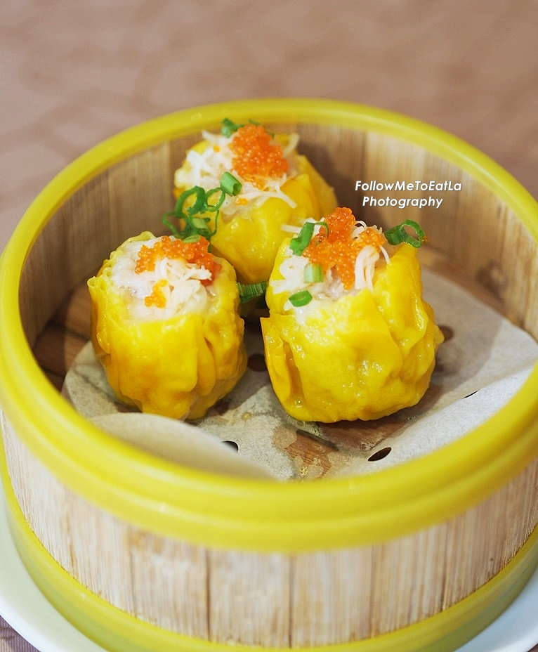 Follow me to eat la malaysian food blog dim sum hong kong another dish that was a highlight was the dried scallop siu ma topped shredded dried scallop and tobiko for the premium touch youll be delighted with the forumfinder Choice Image
