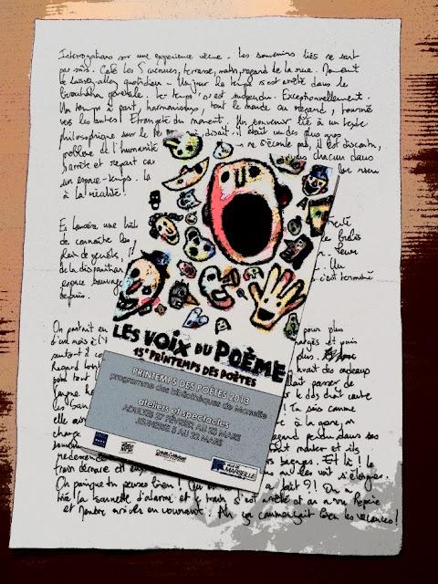 Atelier d'écriture avec Claude Veysset et Julie Villeneuve