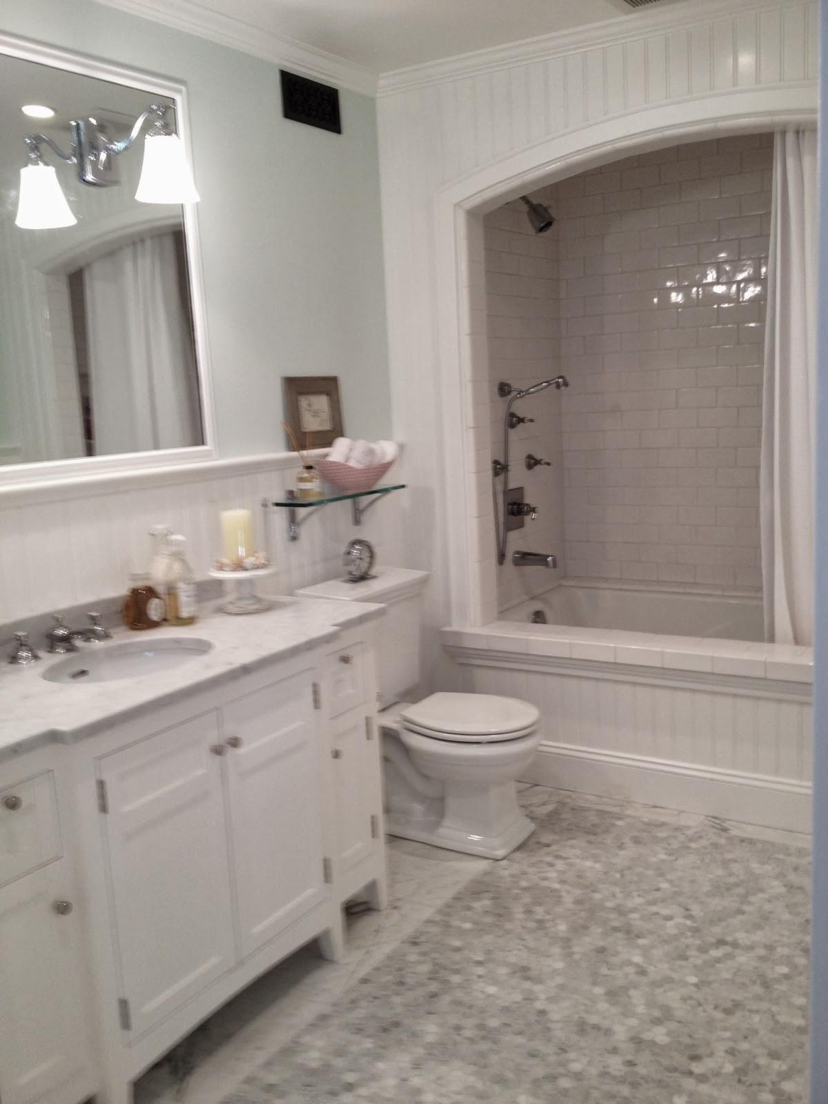 Mortgage Loans Caroline Gerardo Home : White Bathroom Remodel