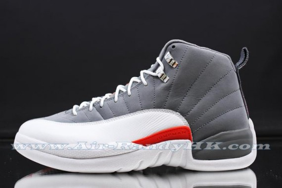 promo code d1525 17290 Air Jordan 12 Retro – Cool Grey – Team Orange – White. We ve seen a few  sets of images depicting the  Siren Red  GS edition in recent weeks, and a  reminder ...