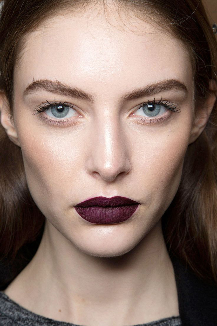 Deep (Almost Black) Shades of Lips