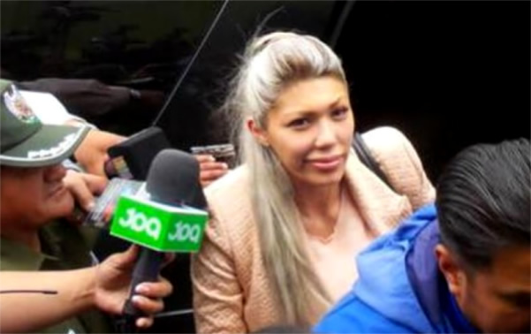 AUDIO: GABRIELA ZAPATA DENUNCIA QUE LA DROGARON, LA AMENAZARON DE MUERTE E INTENTARON AGREDIRLA