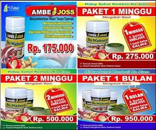 Harga paket obat wasir ambeien stadium 1 - 4 (TANPA OPERASI )