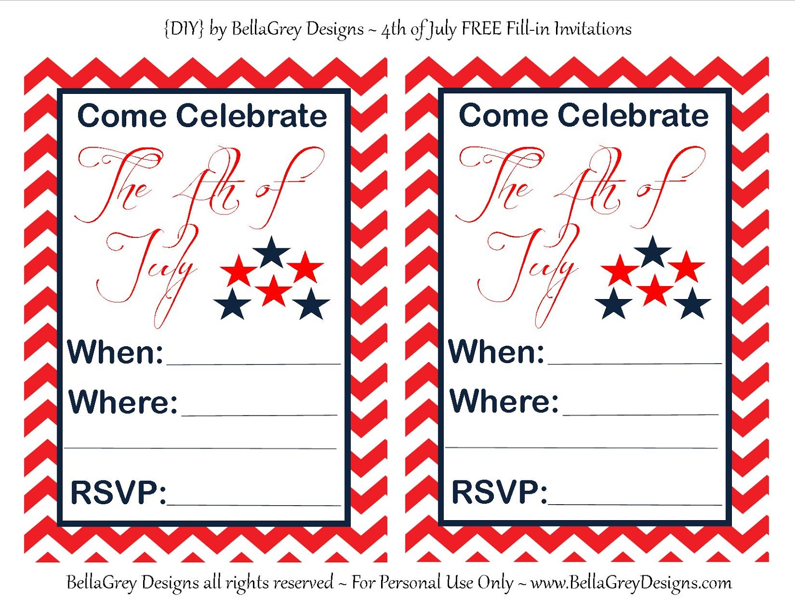 bellagrey designs 4th of july inspiration