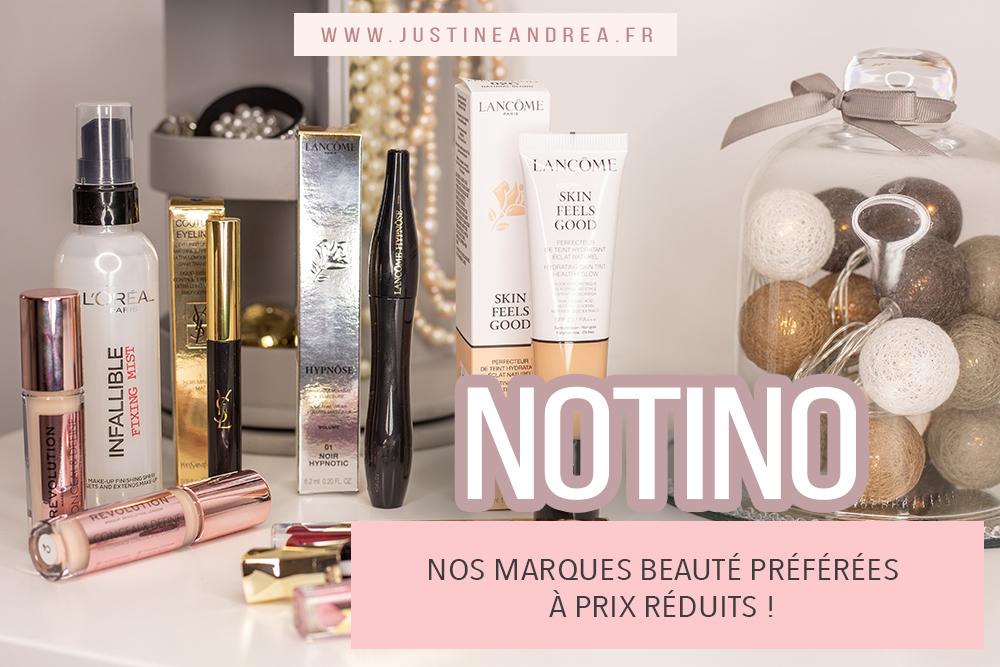 Notino : vos produits de beauté préférés à prix réduits !