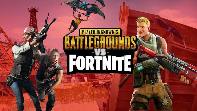 Apa Perbedaan Game PUBG dan Fortnite