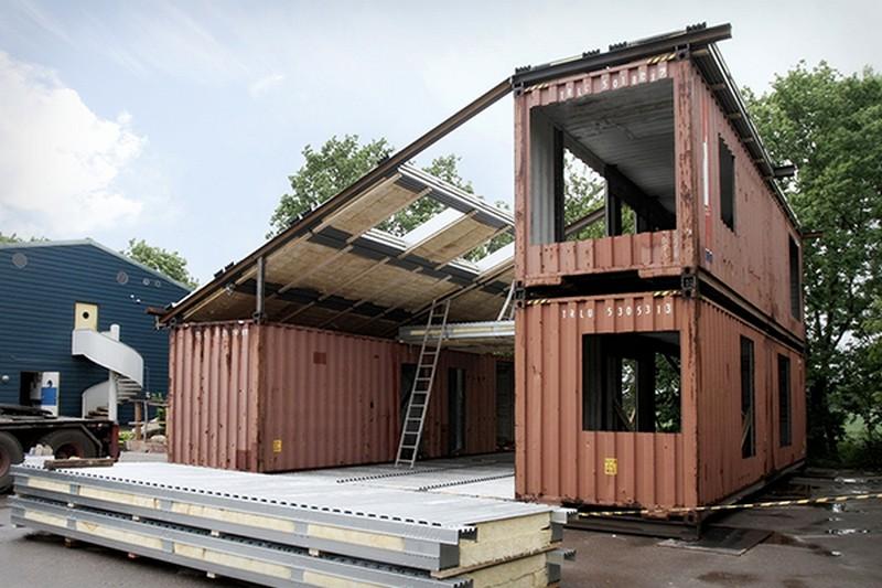 die wohngalerie container haus wo denn perfekt versteckt. Black Bedroom Furniture Sets. Home Design Ideas
