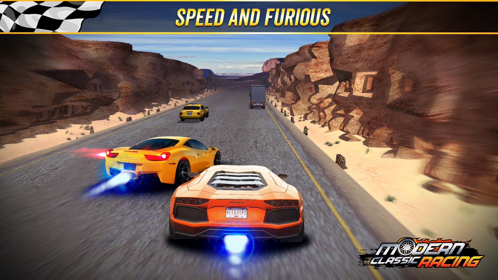 Speed Traffic Drifting Free MOD APK terbaru