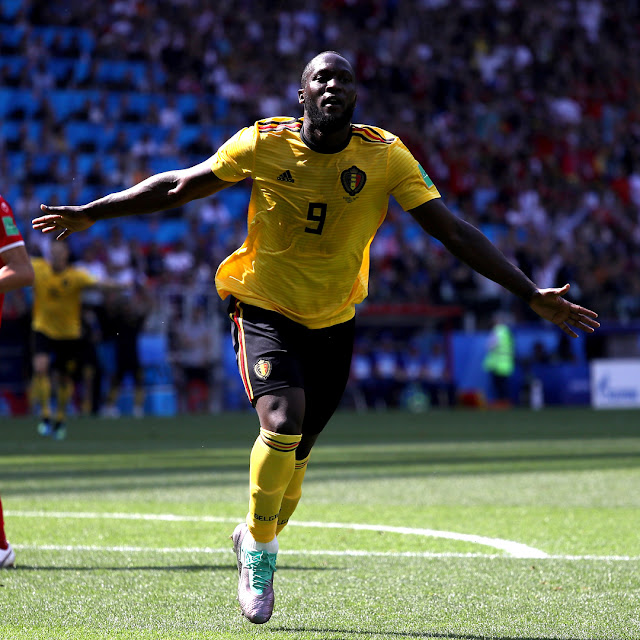 Belgia Pesta Gol di Gawang Tunisia 5-2