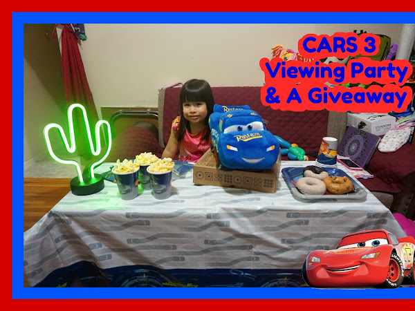 CARS 3 VIEWING PARTY & A GIVEAWAY