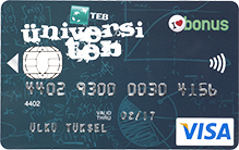 universiteb kredi kartı