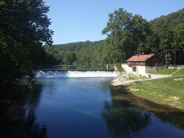 Missouri trout guide for Bennett springs trout fishing