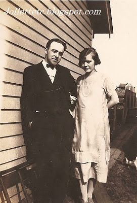 Orvin and Lucille Rucker Davis, Shenandoah, Virginia 1925