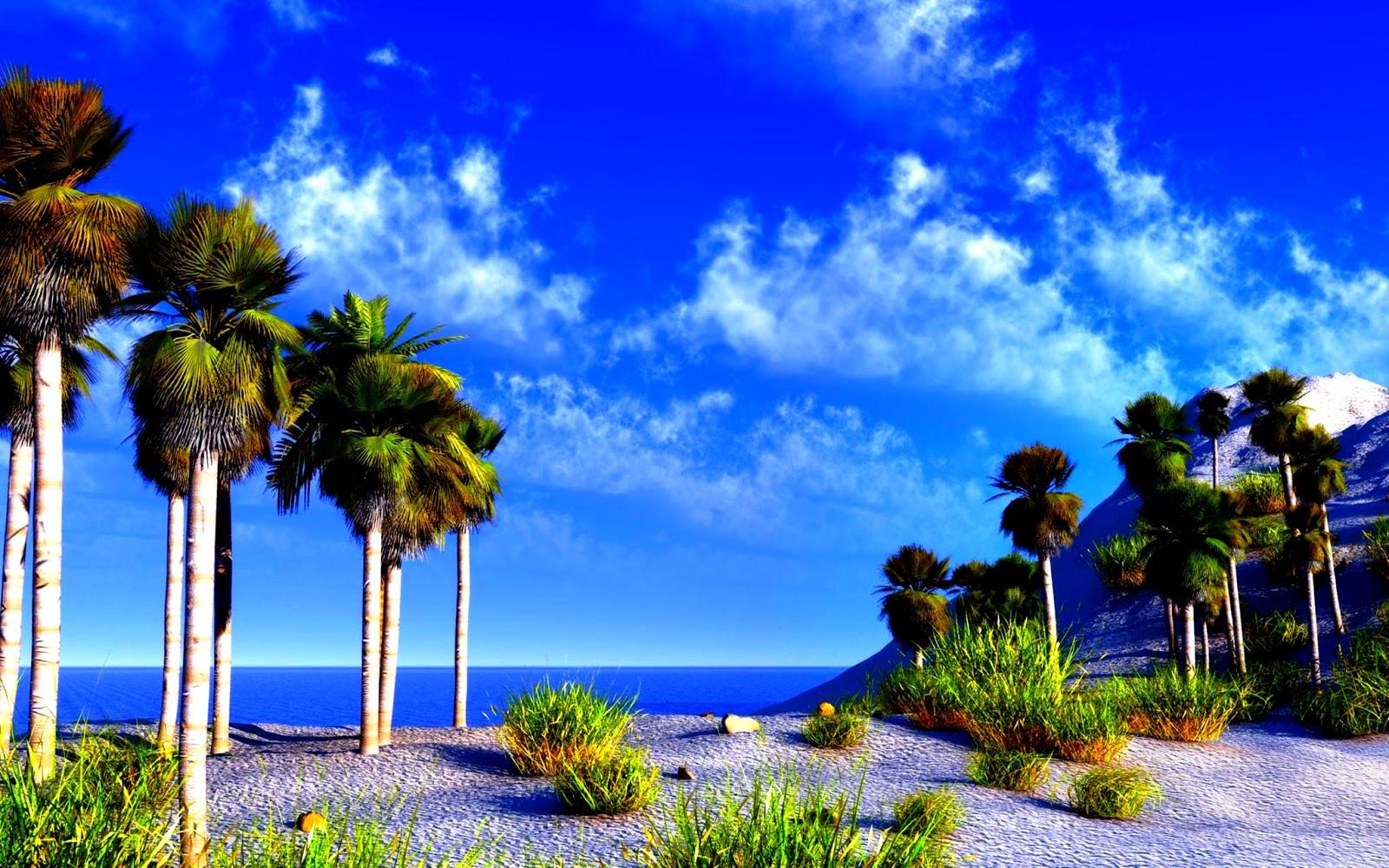 Nature World Best Sea Beach Wallpaper