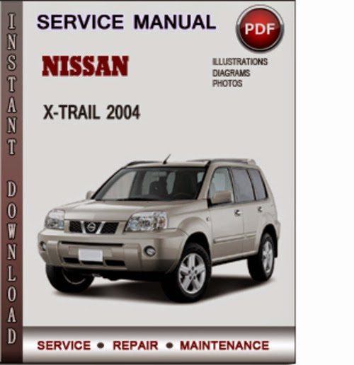 nissan x-trail service manual