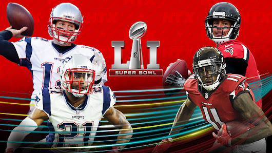 Patriots y Falcons jugarán el Super Bowl