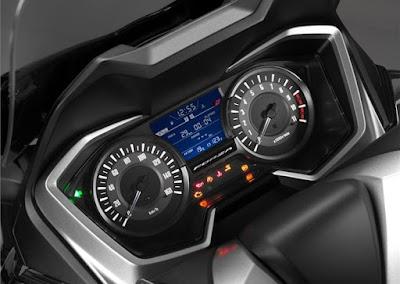 Honda Forza 300 2018 atau Forza 250 speedometer lengkap