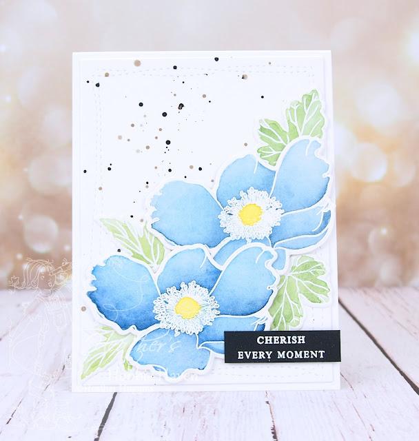 Heather's Hobbie Haven - Altenew - Build-a-Flower Anemone