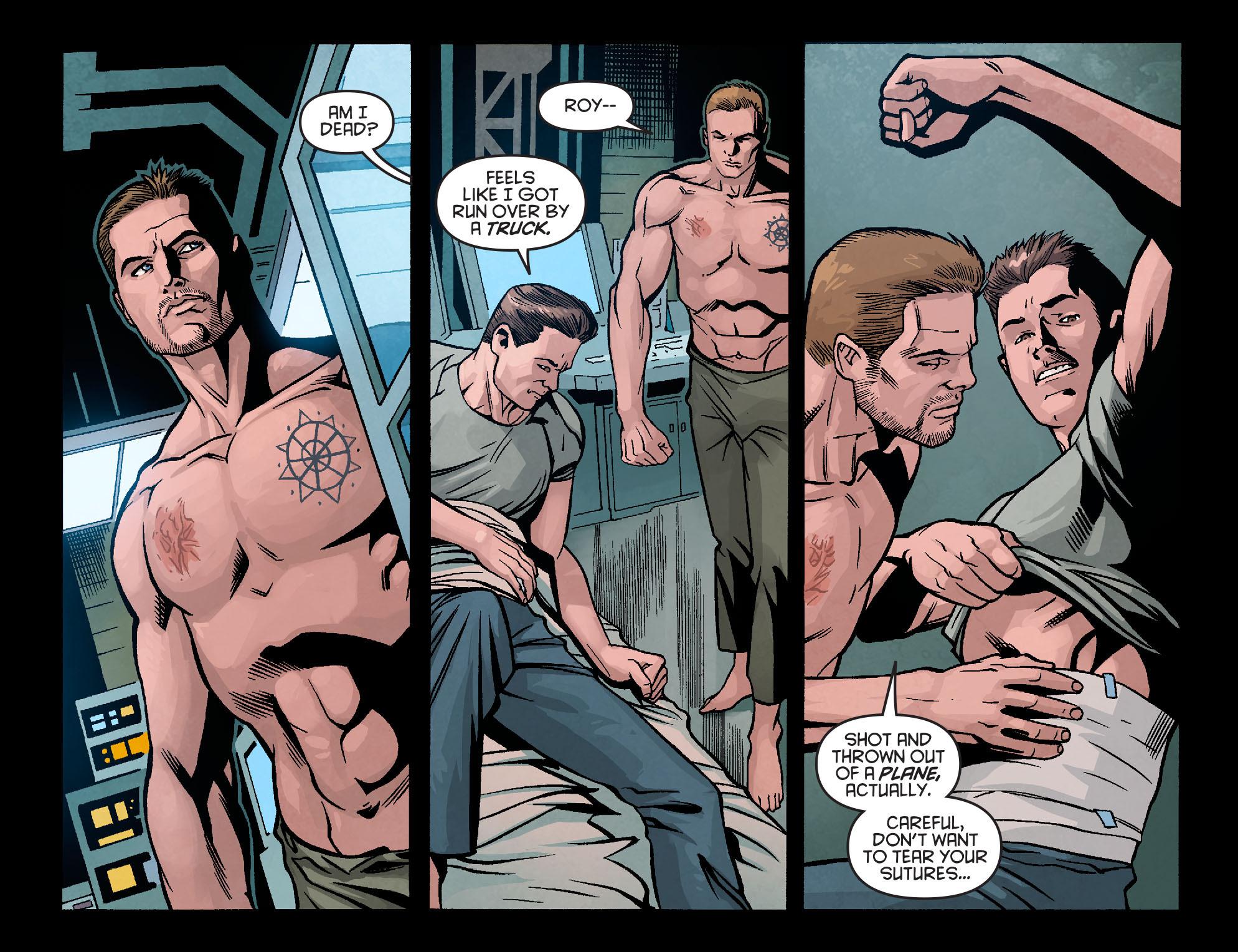 Read online Arrow: Season 2.5 [I] comic -  Issue #9 - 13