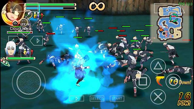setingan naruto ultimate ninja impact ppsspp gold