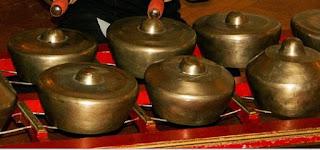 suara gamelan dari dalam gua di Pangandaran