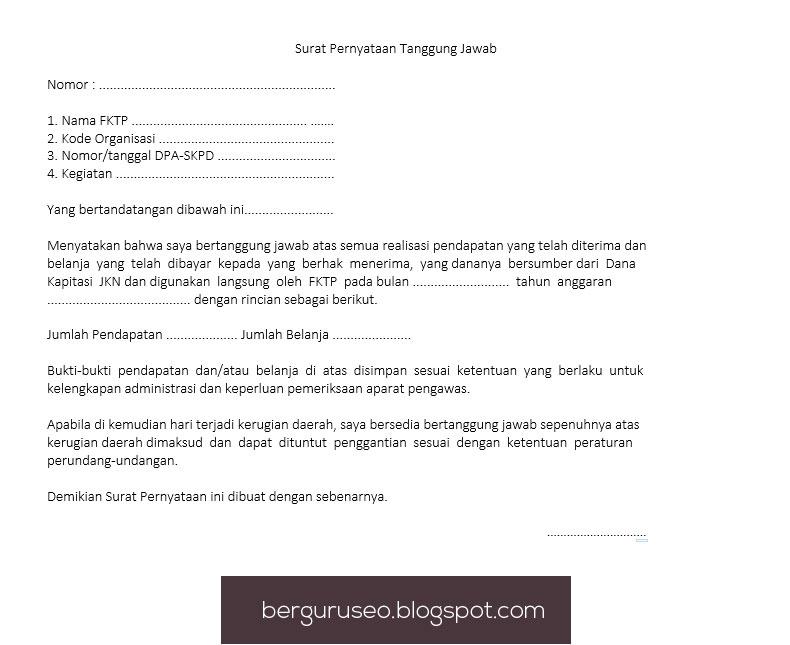 Contoh Surat Pernyataan Cerai Dari Pihak Istri - Contoh Raffa