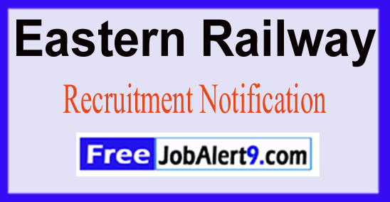 Eastern Railway Recruitment Notification 2017