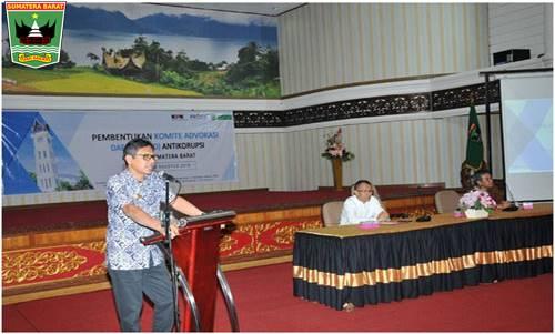 Gubernur Irwan Prayitno Memberi Apresiasi Dibentuk KAD Di Sumbar